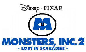 Monsters Inc. 2 Lost In Scaradise Logo and Info by pepsiboy3