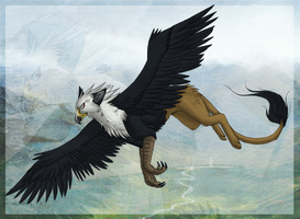 Gryphon by HailDawn