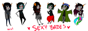 homestuck chibis by 4X31-FTW