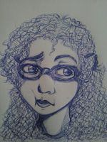 Self Portrait 2013 #3 by Millie-Rose13