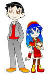 DEEJAY AND LILINA by HOBYMIITHETACTICIAN