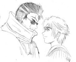 Auron and Tidus by anime-palace-ping