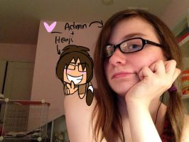 Admin And Hanji by Frosty-Pop
