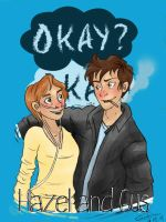 Hazel and Gus by giadina96