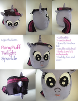 PonyPuff: Twilight Sparkle by InkRose98