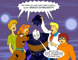TLIID 270 Star Wars mash-up with Scooby Doo! by Nick-Perks