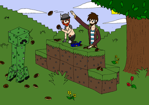 Yogscast Jaffa Cakes And The Crepper by Omis-11