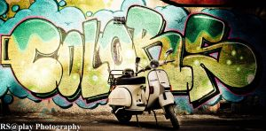 Vespa Colors by corado
