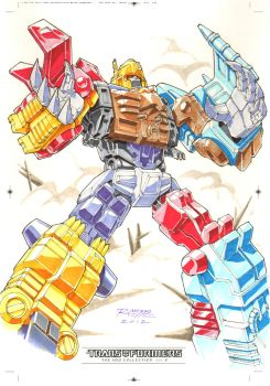 Monstructor #2 for Transformers IDW Limited Vol. 2 by REX-203