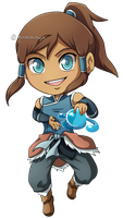 Legend of Korra - Korra -Book 2- Chibi by Kanokawa