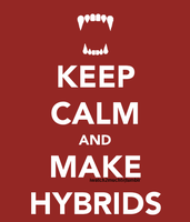 Keep Calm: Hybrid by berquinn