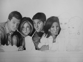 New Drawing - WIP 2 by bm23
