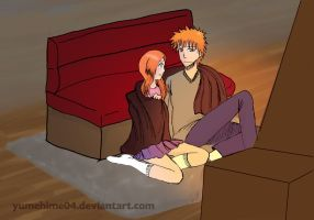 day 10 : Ichihime Cozying by yumehime04