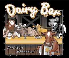 Dairy Bar by fireforgegrafx