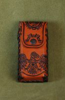 Leather  mobile  case by Fantasy-Craft