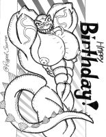 Ripped-Saurian's 2012 Birthday GIFT by MuscleGod124