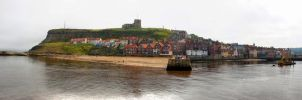 Whitby Panorama 2 HDR by spr33