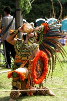 Aztec Male Dancer by mastersphotography