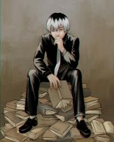 Happy birthday Haise~ by k1deki