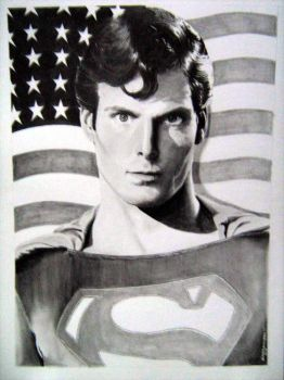 Christopher Reeve by dinnamarque