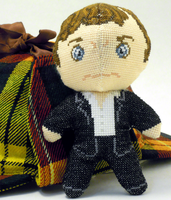 Sherlock 3D Cross Stitch Doll Pattern by rhaben