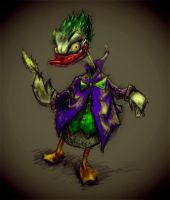 Donald Joker by benzyvyngona