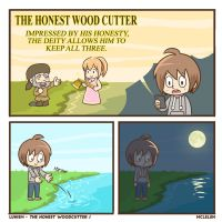 The Honest Wood Cutter 1 by mclelun