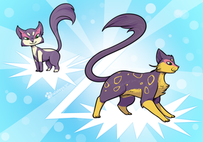 PKMNN - Your Ferelith evolted into Liepard! by Thalateya