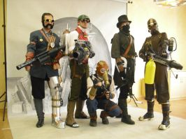 Killing Floor Steampunk altogether by Onimas
