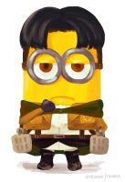 Minion Rivaille by astrayeah