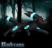 PKMN - Shiny Umbreon by LtJJFalcon