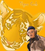 Tiger Cub by Vierna-Drottingu