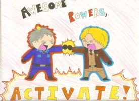 AWESOME POWERS, ACTIVATE by cartoonchick123