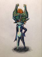 Midna from Twilight Princess by unicorn-chicken