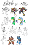 My Strange Mega Man Concepts by leduc-gallery