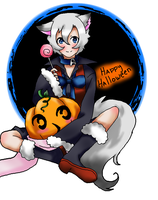 Happy Halloween by rozenpandachan