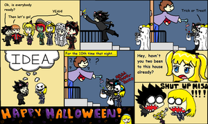 Misa Competition 3 - Halloween by xDancexWaterxDancex