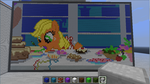 Minecraft Applejack Table by Ironwox