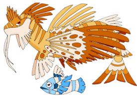 Pokemon-Fake- Lionfish by JoshuaDunlop