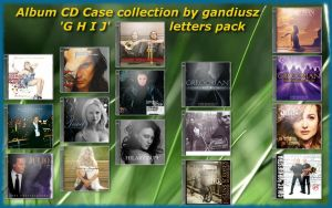 CD Case Collection 'GHIJ' by gandiusz