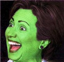 It's Hillary the Wicked Witch by grant1205