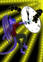 Fight time. Snowfyre birthday gift 2012 by Dragon-Furry