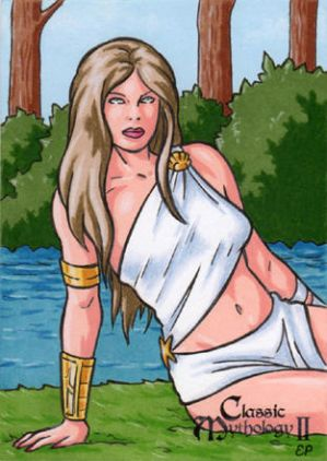Rhode Sketch Card - Classic Mythology II
