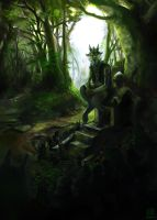 Gama's Forest by wredwrat
