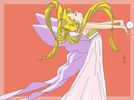 Neo Queen Serenity Wallpaper by usagisailormoon20