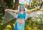 Blue Great Fairy by Midnight-Dance-Angel