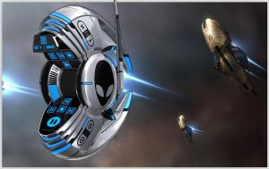 Alienware Invader for XWidget by yxl8825 by qiancang