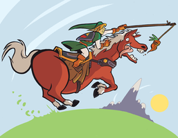Epona by MJRainwater