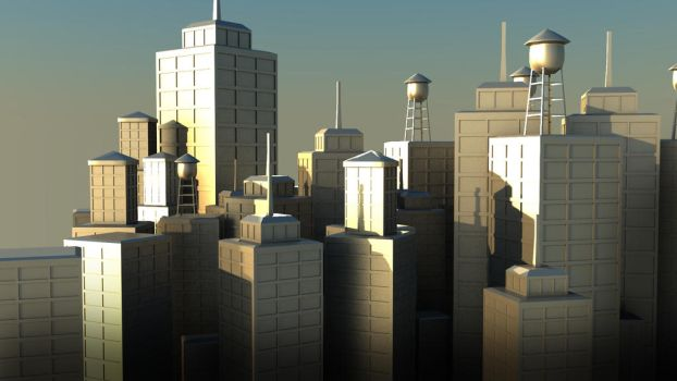 Test Lights City by GexANIMATOR