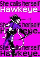 Hawkeye by blindfaith311